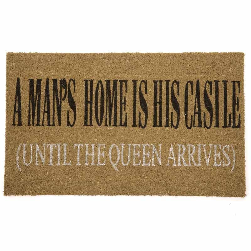 a mans home is his asshole