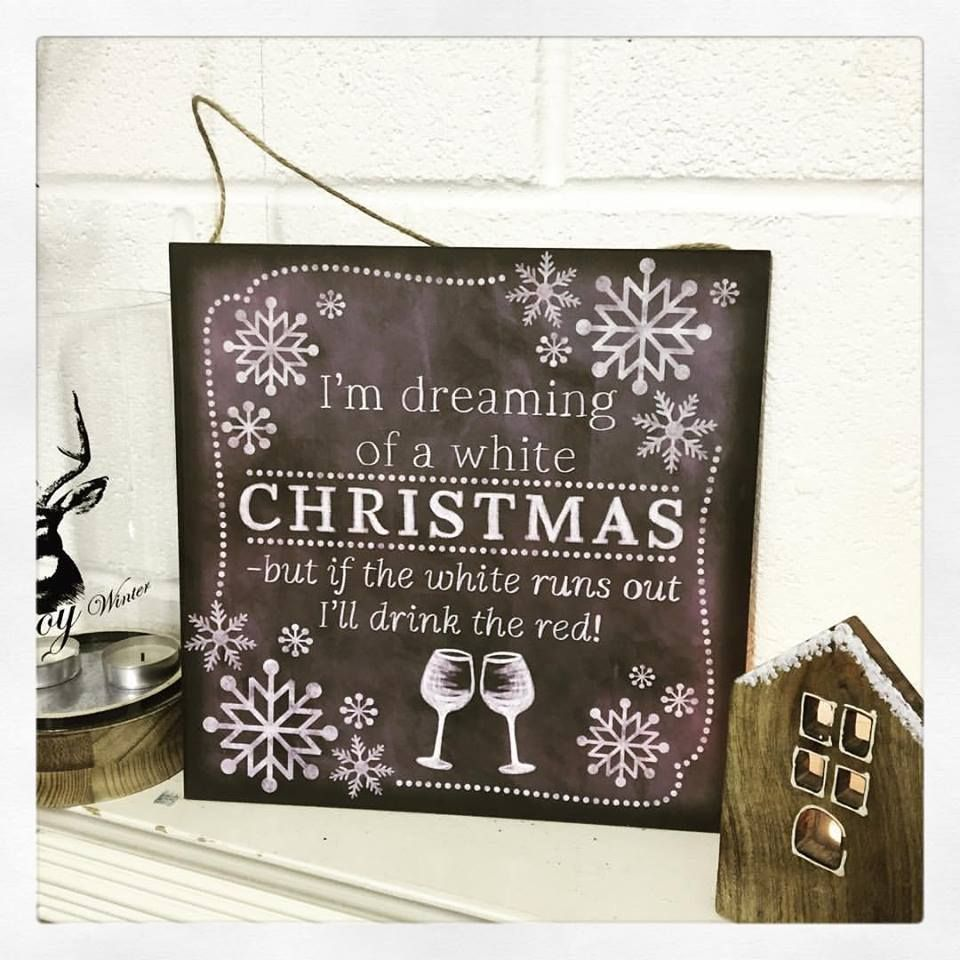 Christmas Chalkboard.4 I M Dreaming Of A White Christmas Chalkboard Style Sign