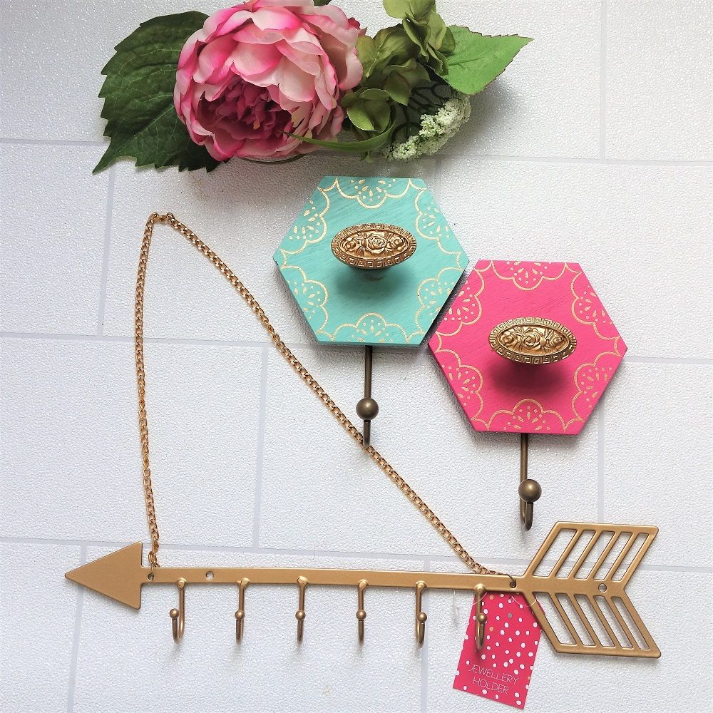 40 off oh so pretty wall hooks