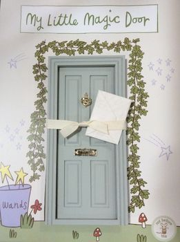 50% off Magical Fairy Door- Various Colours