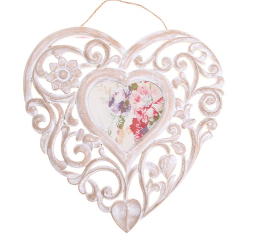 50% OFFROMANTIC HANGING HEART PHOTO FRAME