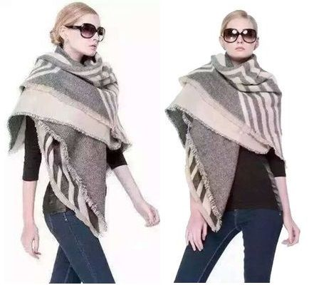 over 60% off REVERSIBLE Arrow Print frayed wrap